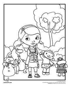 doc mcstuffins printables | Doc McStuffins Coloring Pages – Coloring Pages – Cartoon Jr.