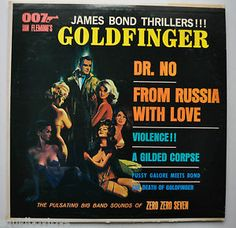 The Zero Zero Seven Band - The James Bond Thrillers!!! (1965)