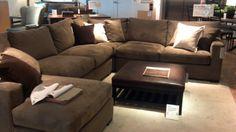 Sectional. Crate and Barrel
