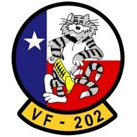 VF-202 Fighter Squadron 202 nicknamed the Superheats was an aviation unit of the United States Naval Reserve initially based at Naval Air Station Dallas, Texas, disestablished on 31 December 1994