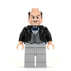 Alfred the Butler from lego set 7783 The Batcave The Penguin and Mr Freezes Invasion