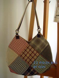 กระเป๋า 22 ชิ้น พร้อมรูปขั้นตอนการทำค่ะ