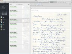 Going Paperless: Digitizing Old Letters via scanning and Evernote: sounds like a good backup for precious letters #genealogy #evernote #familytree