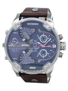 8733d71b4ea5 Diesel Mr. Daddy 2.0 Four Time Zone DZ7314 Men s Watch Time Zones