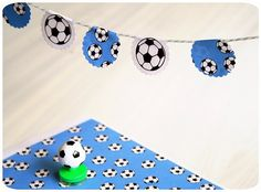 Party supplies & soccer freebie