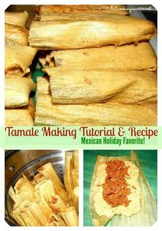 Tamales Recipe – Carnita Recipe Tamale Making Tutorial & Recipe - I think very easy to understand this, bon appetite -!Tamale Making Tutorial & Recipe - I think very easy to understand this, bon appetite -! Tacos, Tostadas, Mexican Cooking, Mexican Food Recipes, Mexican Desserts, Vegetarian Mexican, Dinner Recipes, Latin Food Recipes, Drink Recipes