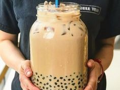 6 Flavors of Boba Tea you Need to Try List Of Flavors, Coconut Jelly, Delicious Food, Tasty, Brown Sugar Syrup, Non Dairy Creamer, Milk Alternatives, Thai Tea, Real Kitchen