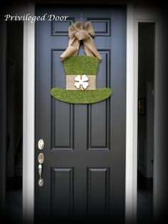 St. Patricks Day Wreath. St. Pattys Wreath. by PrivilegedDoor