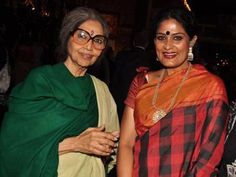 Tara Gandhi Bhattacharjee (L) and Geeta Chandran during the United Nations Day celebrations, held at UN Lawn, Lodhi Garden, October 30, 2012