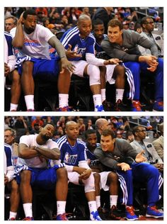 Blake & DJ are too funny ! and Eric awkward in the middle