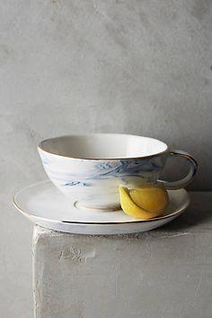 Strata Cup & Saucer