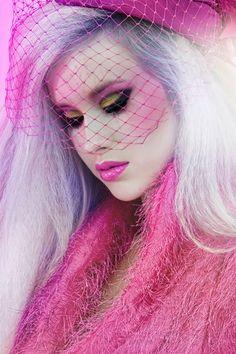 Makeup eyeshadow eyes colors barbie - Maquillaje ♛