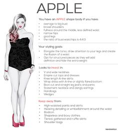 Different Types of Body Shapes and Types: Apple, Pear, Rectangle and Hourglass. How to find your body shape and type?  Body Shape Calculator. How to Determine Your Body Shape. Find Out Your Real Body Type. Shop By Shape with Myntra