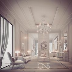 Luxury Lounge design • Private residence | by ions design