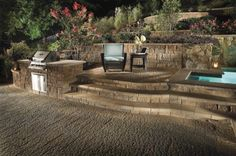 1000 images about pool landscaping ideas on pinterest for Terraced landscape definition