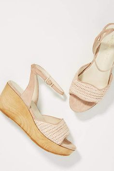 48188b2a34ee Carmen Salas Dalia Wooden Wedge Sandals