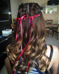 Party Fashion, Rapunzel, Hair Inspiration, Hair Beauty, Hair Styles, 35, Makeup, How To Make, Beautiful