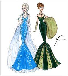 Yigit Ozcakmak Disney Princesses: Elsa & Anna