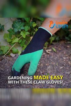 Claws Garden Gloves 5 5 Gardening Made Easy With These Love Garden, Diy Garden, Garden Tools, Garden Bed, Organic Gardening, Gardening Tips, Gardening Services, Indoor Gardening, Claw Gloves
