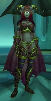 Alexstrasza (humanoid form) from World of Warcraft (video game)