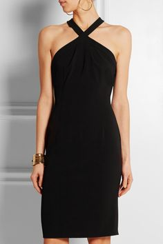 Moschino Cheap and Chic | Stretch-crepe dress | NET-A-PORTER.COM