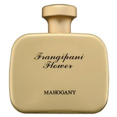 Frangipani Flower Mahogany for women