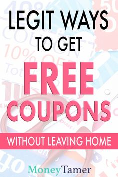 While not as common as before, many companies will still send out free coupons in the mail if you know the trick to get on their mailing list. Save Money On Groceries, Ways To Save Money, Money Tips, Discount Grocery, Discount Shopping, Free Coupons By Mail, Grocery Savings Tips, Total Money Makeover, Couponing For Beginners