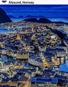 Alesund, Beautiful Places To Visit, Wonderful Places, Jotunheimen National Park, Places To Travel, Places To See, Travel Destinations, Grande Hotel, Visit Norway