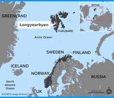 The 2,000 residents in Longyearbyen -- Norway in the Arctic Circle wish for more snow and freezing temperatures.