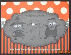 Sharing Creativity and Stampin': Halloween Stamp Camp Projects