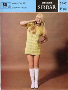 Vintage Crochet Pattern.
