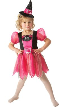 Child Kitty Witch Halloween Costume £9.95 : Direct 2 U Fancy Dress Superstore. Fancy Dress, Party Themes & Accessories For The Whole Family. http://direct2ufancydress.com/child-kitty-witch-halloween-costume-p-4412.html