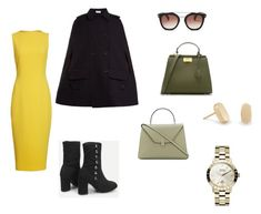 A fashion look from March 2018 featuring mid calf dresses, navy cape and high heel shoes. Browse and shop related looks. High Heels, Shoes Heels, Brandon Maxwell, Charles Keith, Vivienne Westwood, Kendra Scott, Valentino, Fashion Looks, Polyvore