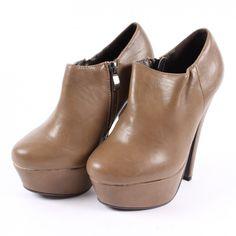 Dámské lodičky Mixer na podpatku hnědé Chelsea Boots, Wattpad, Booty, Ankle, Shoes, Fashion, Moda, Swag, Zapatos