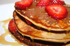 Paleo Pancakes--really yummy, 3 ingredients!