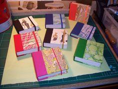 Cuadernitos de notas