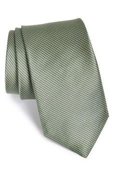 Michael Kors 'Shadow Update' Woven Silk Tie | Nordstrom