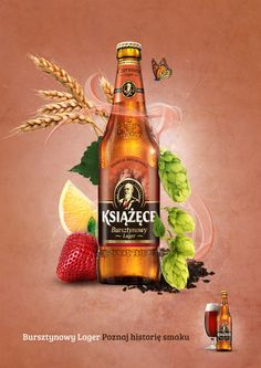 Advertising Campaign : BEER by Anna Małecka, via Behance Advertising Campaign Inspiration BEER by Anna Małecka, via Behance Advertisement Description BEER by Anna Małecka, via Behance Sharing is caring ! Food Graphic Design, Web Design, Food Design, Creative Advertising, Advertising Design, Beer Poster, Poster Ads, Vape Design, Juice Plus