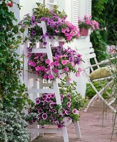 Fantastic garden arrangement ideas with flowers for the summer Garden Garden apartment garden arrangement garden equipment garden fence Garden ideas Garden small Diy Flowers, Flower Decorations, Flowers Garden, Deco Champetre, Fleurs Diy, Pot Jardin, Small Space Gardening, Hanging Plants, Garden Projects