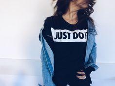 #justdoit #fashion #black #fly #blue #school #beatiful #stil