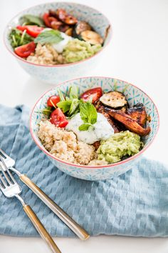 Healthy Quinoa Lunch Bowl | The Daily Dose | Bloglovin
