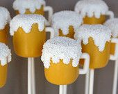 12 Beer Mug Cake Pops for Husband Friend by SweetWhimsyShop – Cakepops – # … - birthday Cake White Ideen Birthday Cakes For Men, Birthday Cake For Boyfriend, New Birthday Cake, Birthday Cupcakes, Guy Birthday, Boyfriend Cake, 21st Birthday Ideas For Guys, Beer Birthday Party, Football Birthday