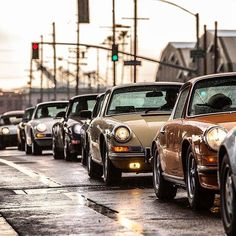 Only Porsches would make traffic so much better...