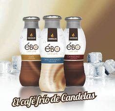Ébo Caffe Latte: café con leche, cappuccino y descafeinado.