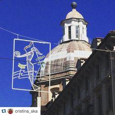 """""""Camminando con il naso all'insù è già Natale"""" #Torino raccontata da cristina_ska per #inTO"""