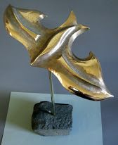 Bronze sculpture, Flight.  https://www.facebook.com/jichici.mircea https://www.facebook.com/pages/Mircea-Jichici-painting/284399895040599  http://www.youtube.com/user/MrJichici