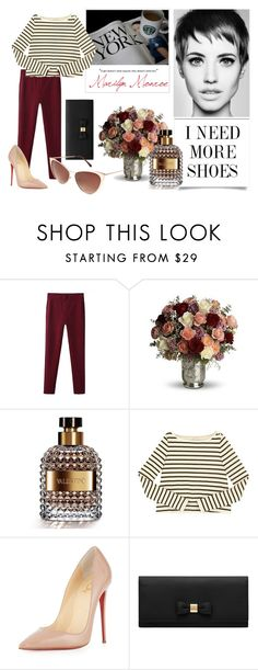 """""""A girl doesn't need anyone who doesn't need her~M.Monroe"""" by jims-96 ❤ liked on Polyvore featuring Zara, Valentino, Christian Louboutin, Mulberry, Forever 21, Once Upon a Time, Beauty, Newyork, trend and Marilyn"""