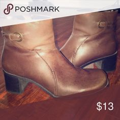 Women's Booties Ladies brown booties, in good condition croft & barrow Shoes Ankle Boots & Booties