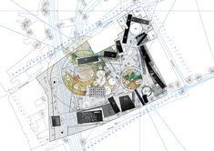 draftworks* proposal for 'House of Fairytales' Competition Odense, Denmark, 2013 plan