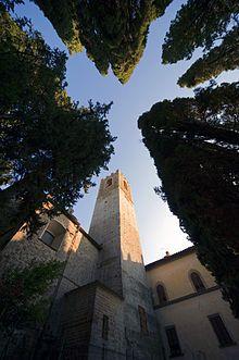 Abbazia di San Michele Arcangelo a Passignano - Campanile
